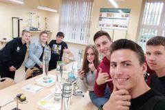 Klasa 2D na zajęciach na Politechnice Wrocławskiej