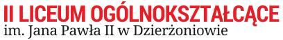 II Liceum Ogólnokształcące im. Jana Pawła II w Dzierżoniowie